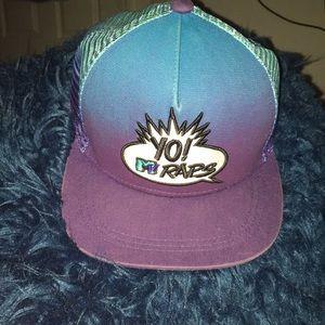 "Vintage ""Yo MTV Raps"" snapback hat"